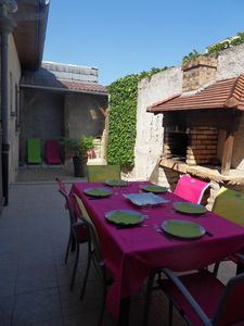Photo for House with courtyard and terrace in quiet street at the gates of the historic center