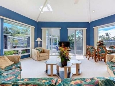 Photo for Spacious, Luxurious, Tropical Townhouse Style Condo For A Truly Aloha Vacation
