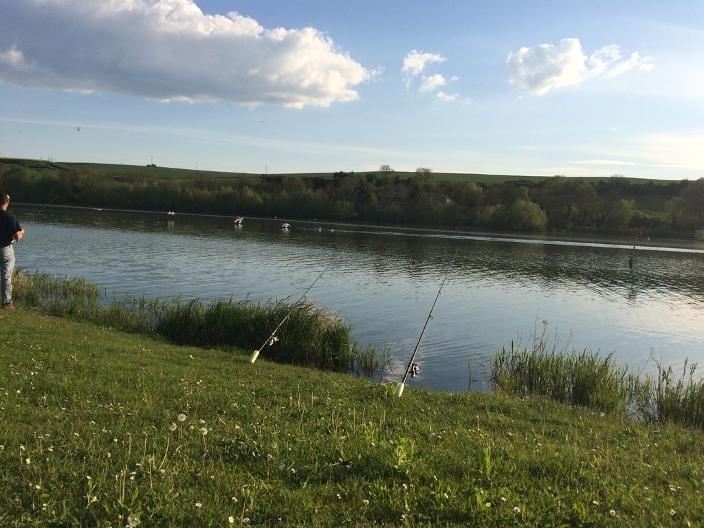 Gite in Ardennes Lake Bairon  Swimming   Country Hiking Fishing