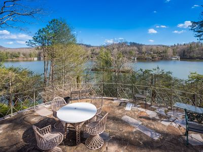 Photo for Lake Summit Estate.  Directly On The Water!