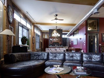 Photo for Spectacular, Loft Style Condo - Great Location! - WALK TO EVERYTHING!