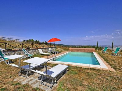 Photo for Tuscany 4 bedroom house with pool