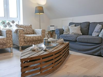 Photo for Maritime, modern apartment with parking, quiet location in the old town