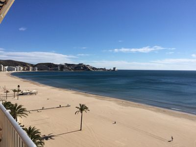 Photo for DIRECT ACCESS TO THE SEA-Edificio Montserrat 1ST LINEA CON EL VISTA EN EL MAR