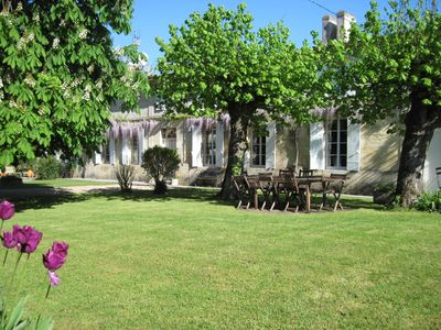 Photo for Charming bed and breakfast in the Bordeaux vineyards near St Emilion & Medoc