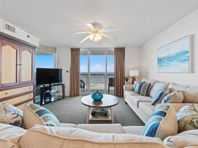 Photo for Beautiful Upscale BeachFront 4BR/3BA, Bright End Unit, Book August Specials Now!