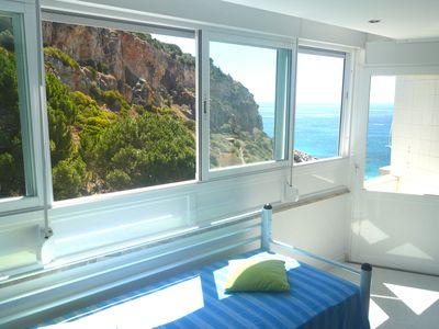 Photo for STUDIO WITH DIRECT ACCESS TO THE BEACH. WI-FI. SEA VIEW