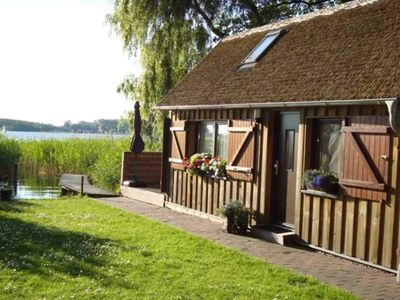 Photo for On the island lake - holiday house - holiday home on the island lake