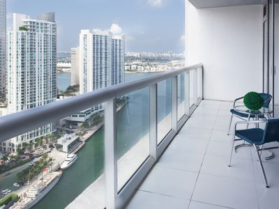 Photo for Luxurious Designer Condo★Ocean and River Views★Smart TVs★Free: POOL, SPA & GYM