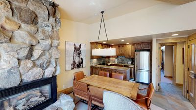 Photo for Modern Condo with Stunning Mountain Views - Steps from Vail Mountain!