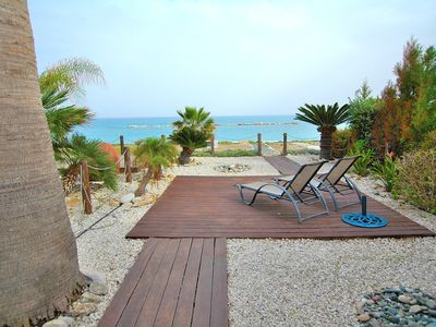Photo for Arsinoe 4,  unique Seafront property on the beach of Latchi