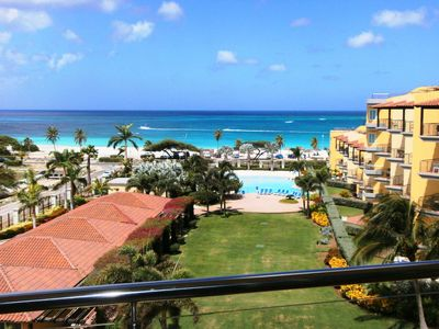 Your view standing in your balcony!