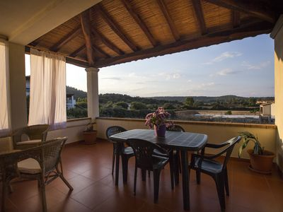 Photo for Torre di Barì Four-room apartment 8 to the sea Extra Large