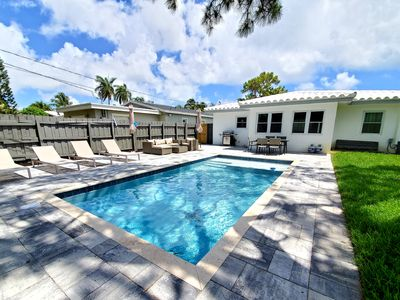 Photo for 3 Bedrooms Oasis House with Pool in Fort Lauderdale