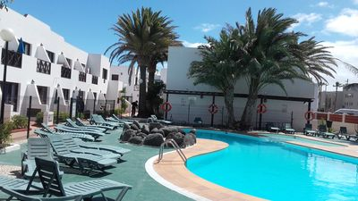 Photo for Aloha Corralejo beach appartament, terrace whit sea view, WIFI, free