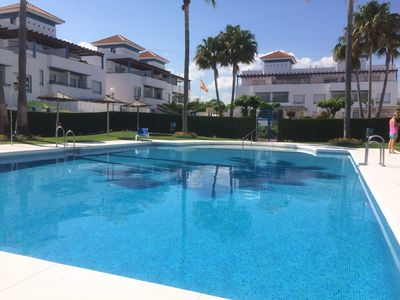 Photo for Stunning sea view - wi fi - families, golfers, 10 mins from Puerto Banus & Beach