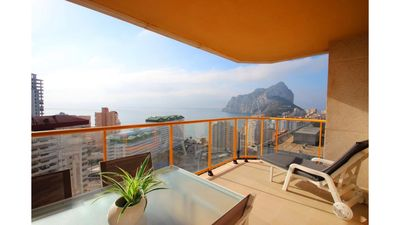 Photo for On the beach. Floor 19 Spectacular views. 2 terraces