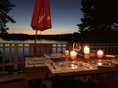 Photo for Cozy lake house minutes to Craigville Beach