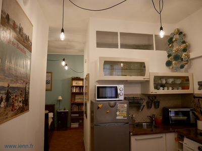 Photo for Charming flat in Bastia historical centre. Official ranking : 3 stars, 3 keys Clévacances