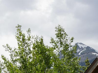 Photo for Enjoy Mountain Views from our centrally located Frisco condo!