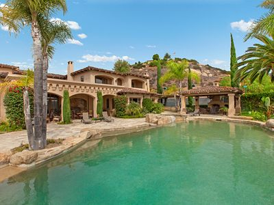 Photo for 11,000 SF Estate over looking famous Maderas Golf Course with the best weather