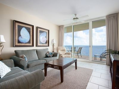 Photo for Gulf Front 3 BR/3 BA Condo That Sleeps 9! Amenities For The Entire Family!
