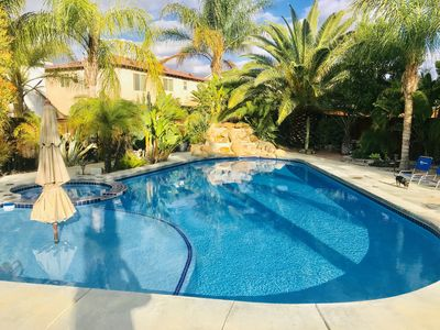 Photo for Private Pool Paradise/Hammock/Palapa/Family Home/Sleeps 12