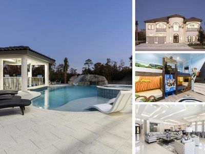 Photo for W301- 8 Br Reunion Mansion With Luxury Pool Area