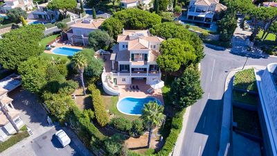 Photo for Vale do Lobo villa with Sea Views and Heatable Pool J156