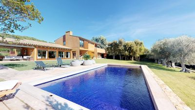 Photo for 5 bedroom Villa, sleeps 12 in Vall-Llobrega with Pool and WiFi
