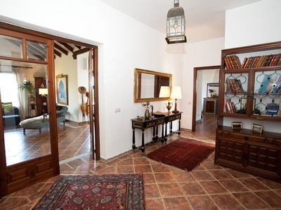 Photo for A unique Andalusian house, 10 minutes from the beach, superviews, swimingpool