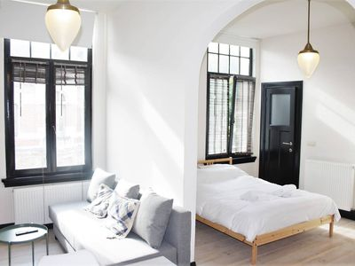 Photo for Apartment 1.2 km from the center of Antwerp with Internet (1004832)