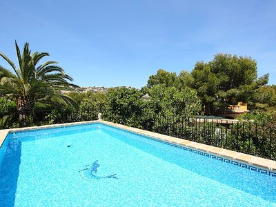 Photo for Vacation home Krumel in Moraira - 10 persons, 5 bedrooms