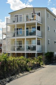 Photo for Oceanfront condo 1 mile from the pier