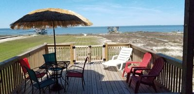 Photo for Looking for privacy?  Bayside beach, dock. Quick walk to Gulf, pet Friendly