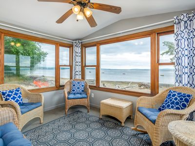 Photo for NEW LISTING! Family-friendly house on Lake Champlain w/ beach, views & WiFi