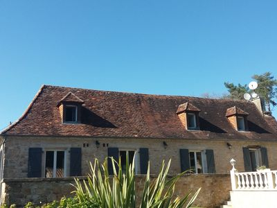 Photo for Beautiful perigord stone, private pool, exceptional views and breathtaking.