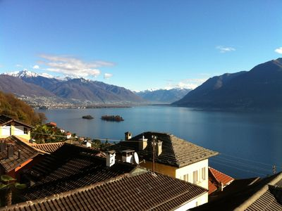 Fantastic view with Brissago Islands