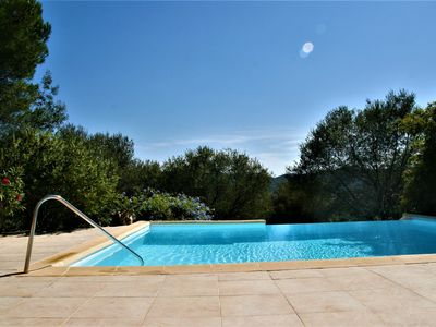 Photo for Quiet villa with swimming pool 4 bedrooms Classified **** Old village, close to shops