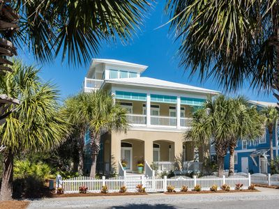 Photo for Sea Breeze - Luxury across from the Beach and Pool, Professionally decorated.