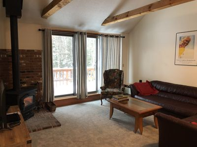 Photo for Tripyramid Townhouse, 2 BR 2 BA in the heart of the White Mt. National Forest