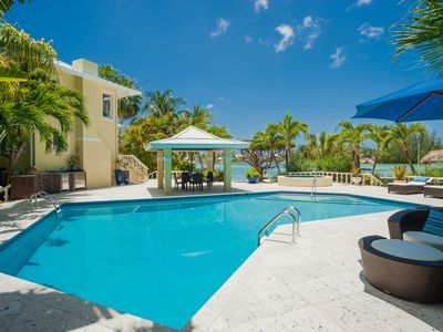 Photo for Kaiku: Gated Estate w/Guesthouse, Private Pool, Heated Spa, and Private Dock