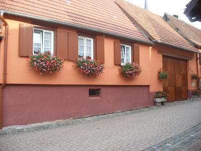Photo for Holiday cottage in Westhoffen Schwartz Jacqueline Route des vins 67 Alsace