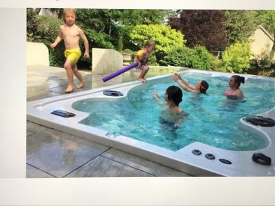 Photo for Large Country House with swim spa to rent