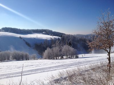 Photo for Apartment located on the ski resort Altastenberg, 1km from Winterberg Bike Park