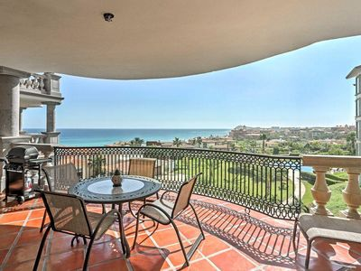 Photo for Puerta Del Sol Charming Luxury Condo w/Enchanting Ocean Views from Private Balcony!