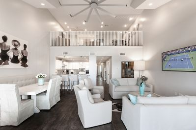 Main Living Area - Welcome to Rosemary Beach! This condo is professionally managed by TurnKey Vacation Rentals.