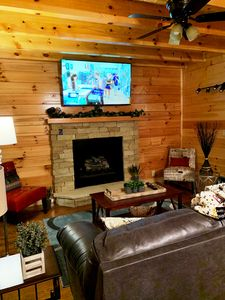 Photo for Summer open*New cabin! Completed May 19! 2 Miles DW & PKWY* MTN.&City Views*WIFI