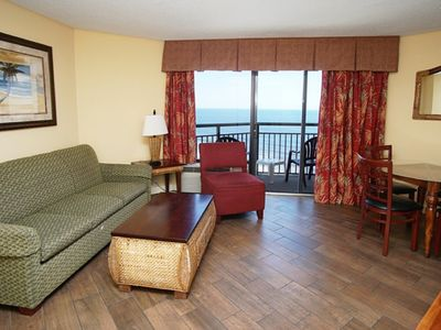 Photo for Monterey Bay 1613, 1 BR condo with Lovely Ocean Views, Indoor Outdoor Pools, Hot Tub, Lazy River and Kiddie Water Park