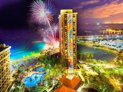 Photo for Hilton Hawaiian Village, Kalia Tower 1 bedroom. Gorgeous oceanfront resort!